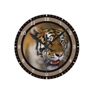 Amur Siberian Tiger Wallclocks