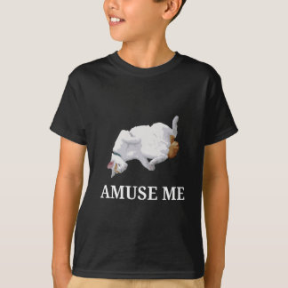Amuse Me (White) T-Shirt
