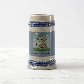 Amuse to you in this day beer stein