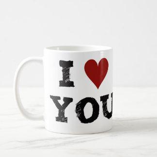 Amused mug - I love you