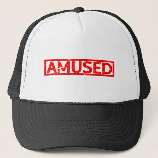 Amused Stamp Trucker Hat