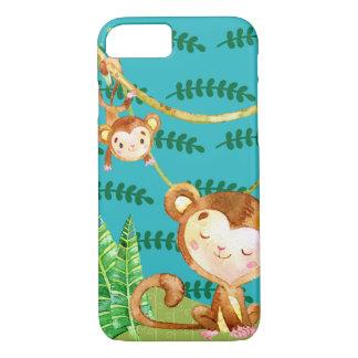 Amusement drôle de jungle de singe coque iPhone 7