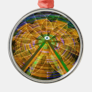 Amusement Ferris Wheel Metal Ornament