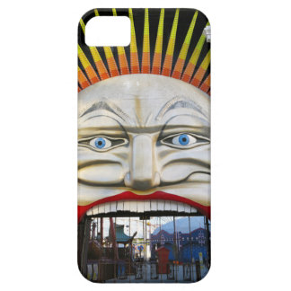 Amusement Park Entrance - Crazy Face iPhone 5 Cover