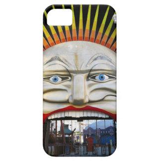 Amusement Park Entrance - Crazy Face iPhone 5 Cover
