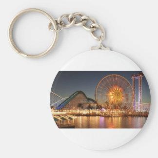 Amusement Park Lights Keychain