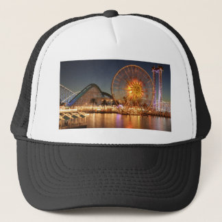 Amusement Park Lights Trucker Hat