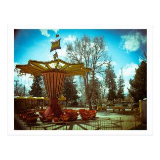 Amusement Park Nostalgia Postcard