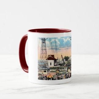 Amusement Park, Rochester, New York Vintage Mug