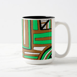 Amusing Enthusiastic Persistent Tranquil Two-Tone Coffee Mug
