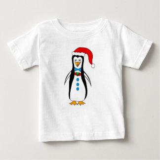 Amusing Penguin Design on Baby T-Shirt