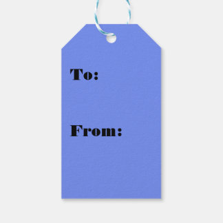 Amusingly Popular Blue Color Gift Tags