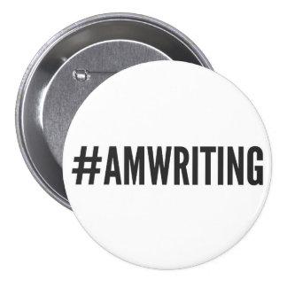 #AMWRITING | 3 Inch Round Button