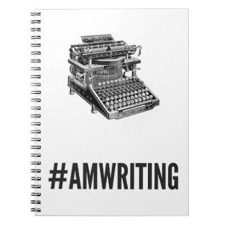 #AMWRITING Typewriter | 80-Page Notebook
