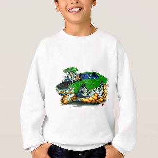 AMX Green-Black Car Sweatshirt