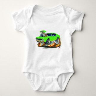 AMX Lime Car Baby Bodysuit