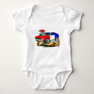 AMX RedWhiteBlue Car Baby Bodysuit