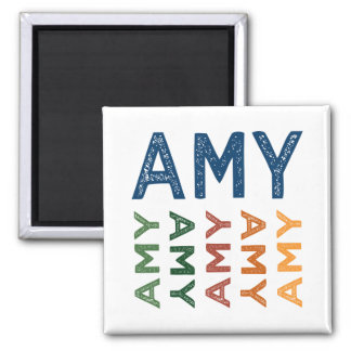 Amy Cute Colorful Magnet