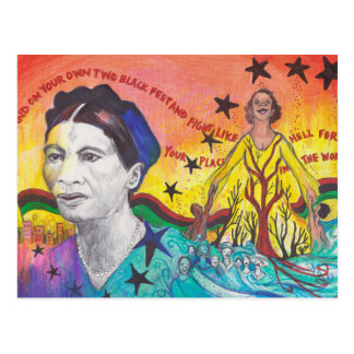 Amy-Jacques Garvey Postcard