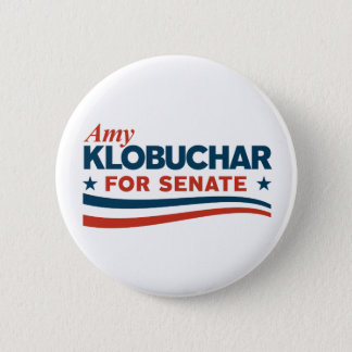 Amy Klobuchar for Senate 2 Inch Round Button