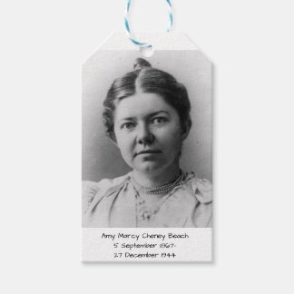 Amy Marcy Cheney Beach Gift Tags