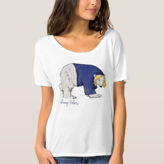 Amy Polar Bear Slouchy Boyfriend T-Shirt