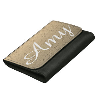 Amy raindrops wallet - cream