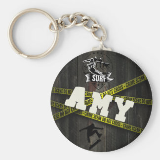 AMY - Skater Style Keychain