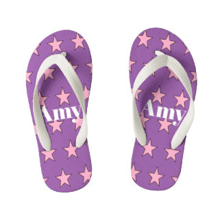 #Amy toddler flip flops by DAL