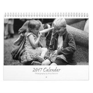 Amy's 2017 Monochrome Photo Calendar