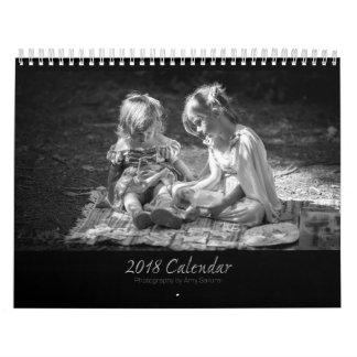 Amy's 2018 Monochrome Photo Calendar