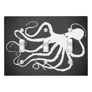 Amy's Octopus 1 - Light Switch Cover