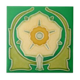 AN088 Art Nouveau Reproduction Antique Tile