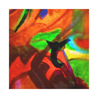 An abstract image. canvas print