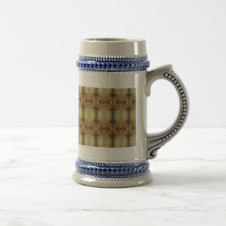 An Abstract Pattern 18 Oz Beer Stein