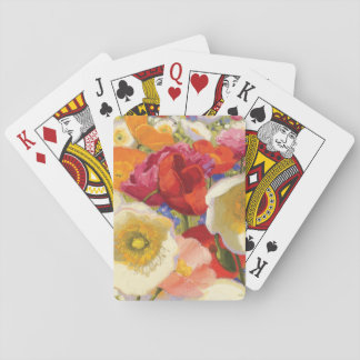 An Abundance of Flowers Playing Cards