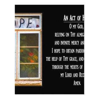 An Act of Hope Prayer Letterhead