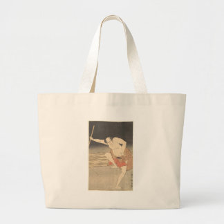 An Actor Beside Water Large Tote Bag