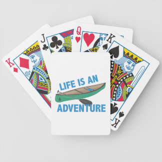 An Adventure Bicycle Playing Cards