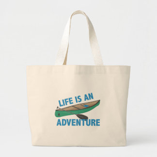 An Adventure Large Tote Bag