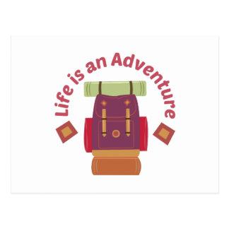 An Adventure Postcard