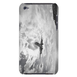 An airliner comes in for a landing at Princess iPod Case-Mate Cases
