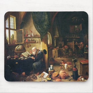 An Alchemist in his Workshop Mouse Pad