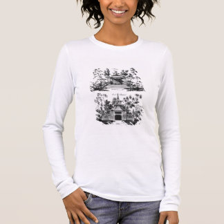 An Alcove and a Cool Retreat, from 'Chinese Archit Long Sleeve T-Shirt