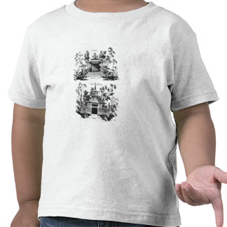 An Alcove and a Cool Retreat, from 'Chinese Archit Tshirts