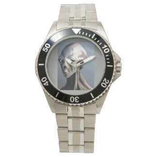 An Alien Wrist Watch