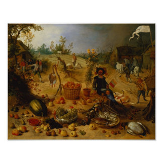 An Allegory of Autumn Poster
