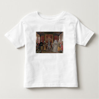 An Allegory of the Tudor Succession: The Family of Toddler T-shirt