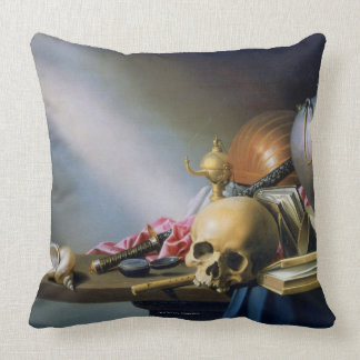 An Allegory of the Vanities of Human Life Pillows