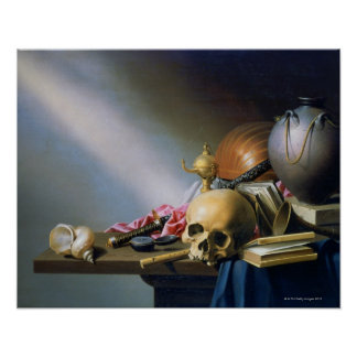 An Allegory of the Vanities of Human Life Poster